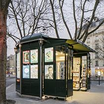 Référence : nouveaux kiosques parisiens