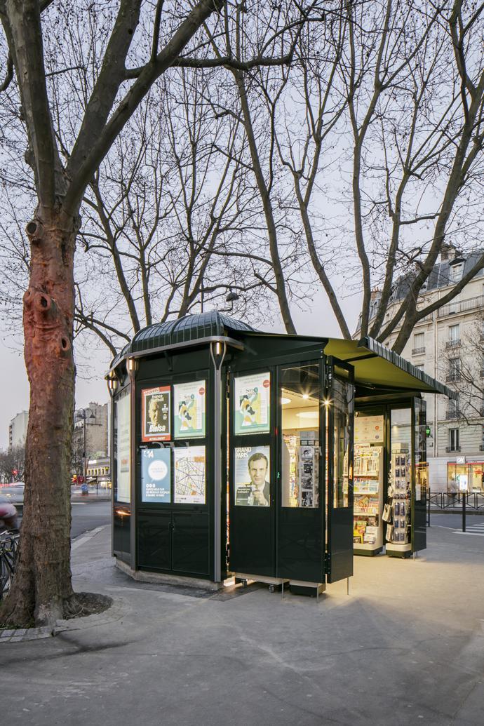 Kiosque mobilier urbain store