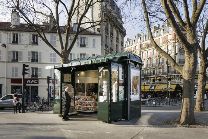 Kiosque Paris