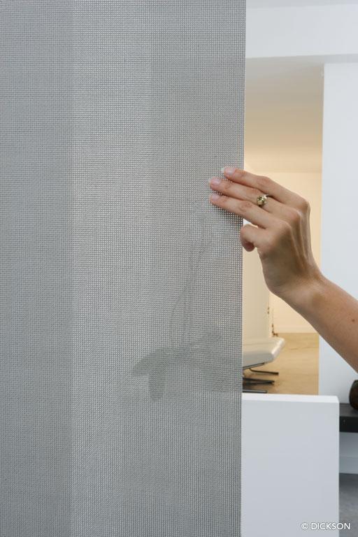 8876 Perle - Sunvision - Panneau de séparation, Store à bandes verticales